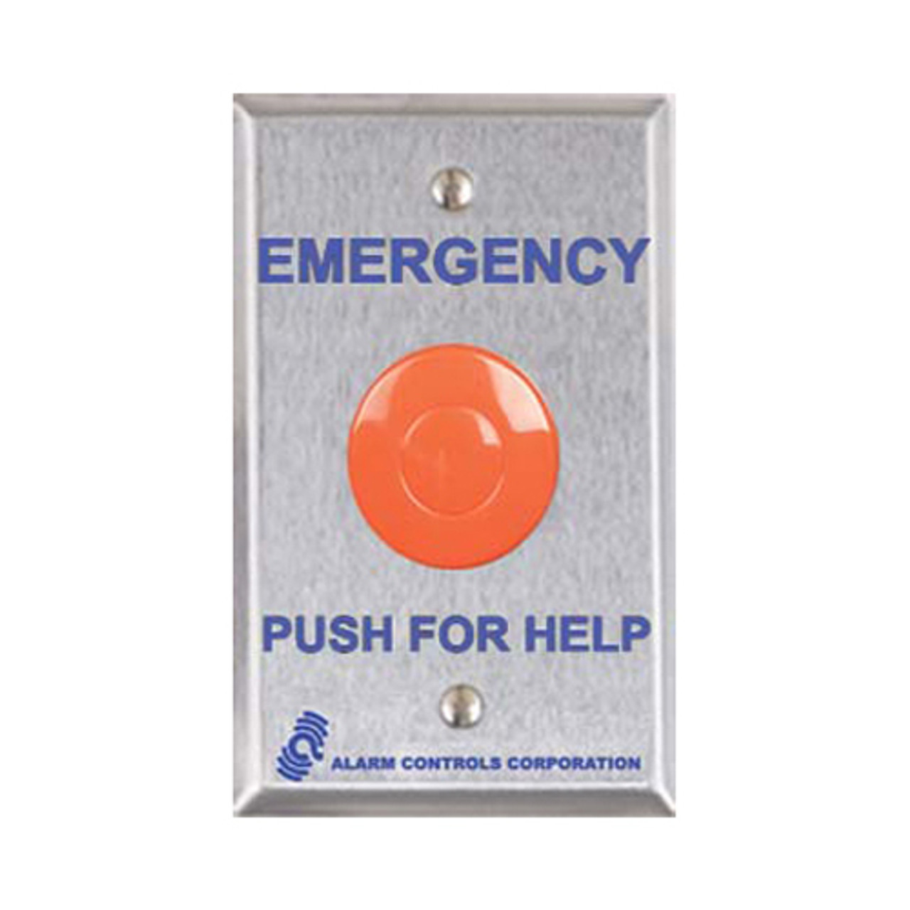 ASP-PBL-1 ASP Alarm Control Latching Pushbutton Panic Stations