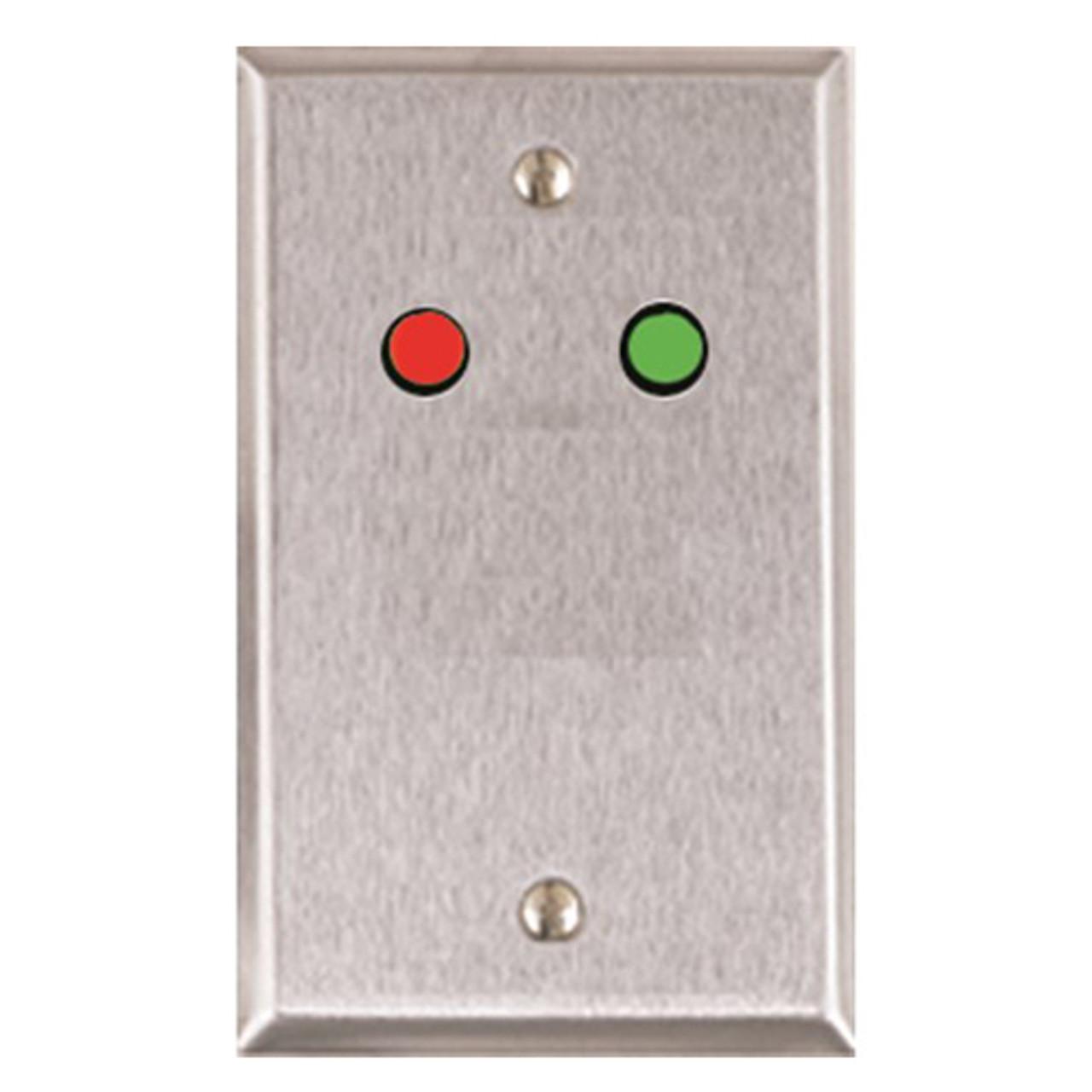 ASP-RP-9 ASP Alarm Control Single Gang Wall Plate