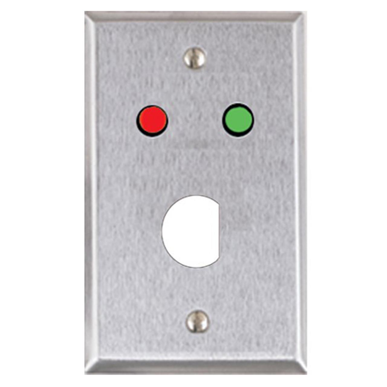 ASP-RP-4 ASP Alarm Control Single Gang Wall Plate