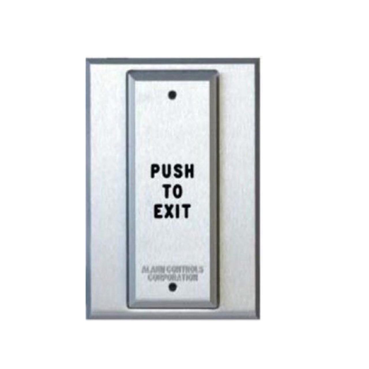 ASP-PT1-111 ASP Alarm Control Vandal Resistant Push Plate T Style