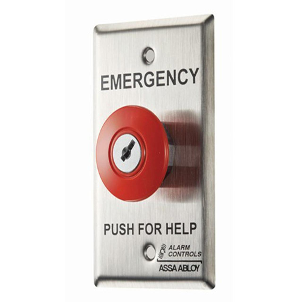 ASP-KR-1 ASP Alarm Control Latching Key Reset Panic Stations