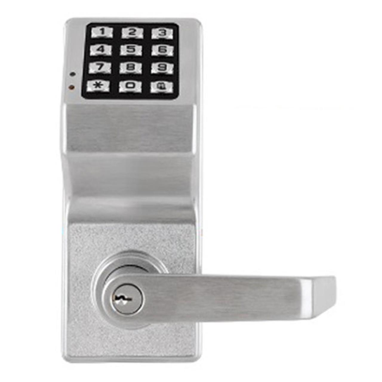 DL2800-US26D Alarm Lock Trilogy Electronic Digital Lock in Satin Chrome Finish