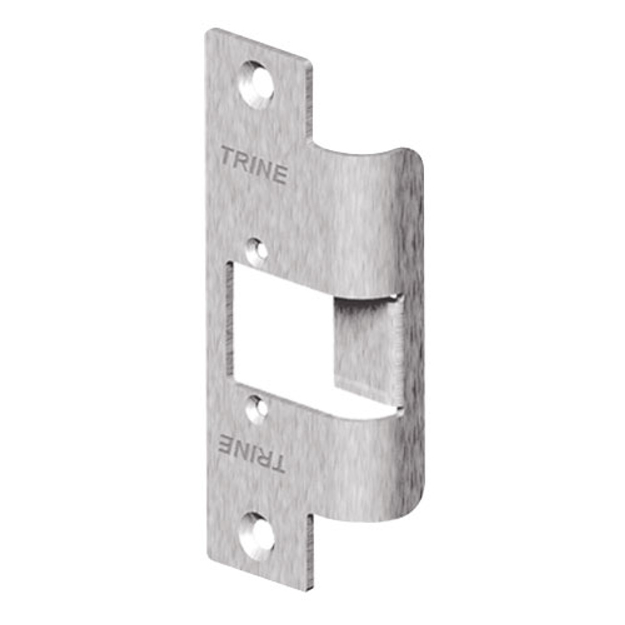 478LO-RD-US32D Trine 3000 Series Faceplate with Radiused Corners in Satin Stainless Steel Finish