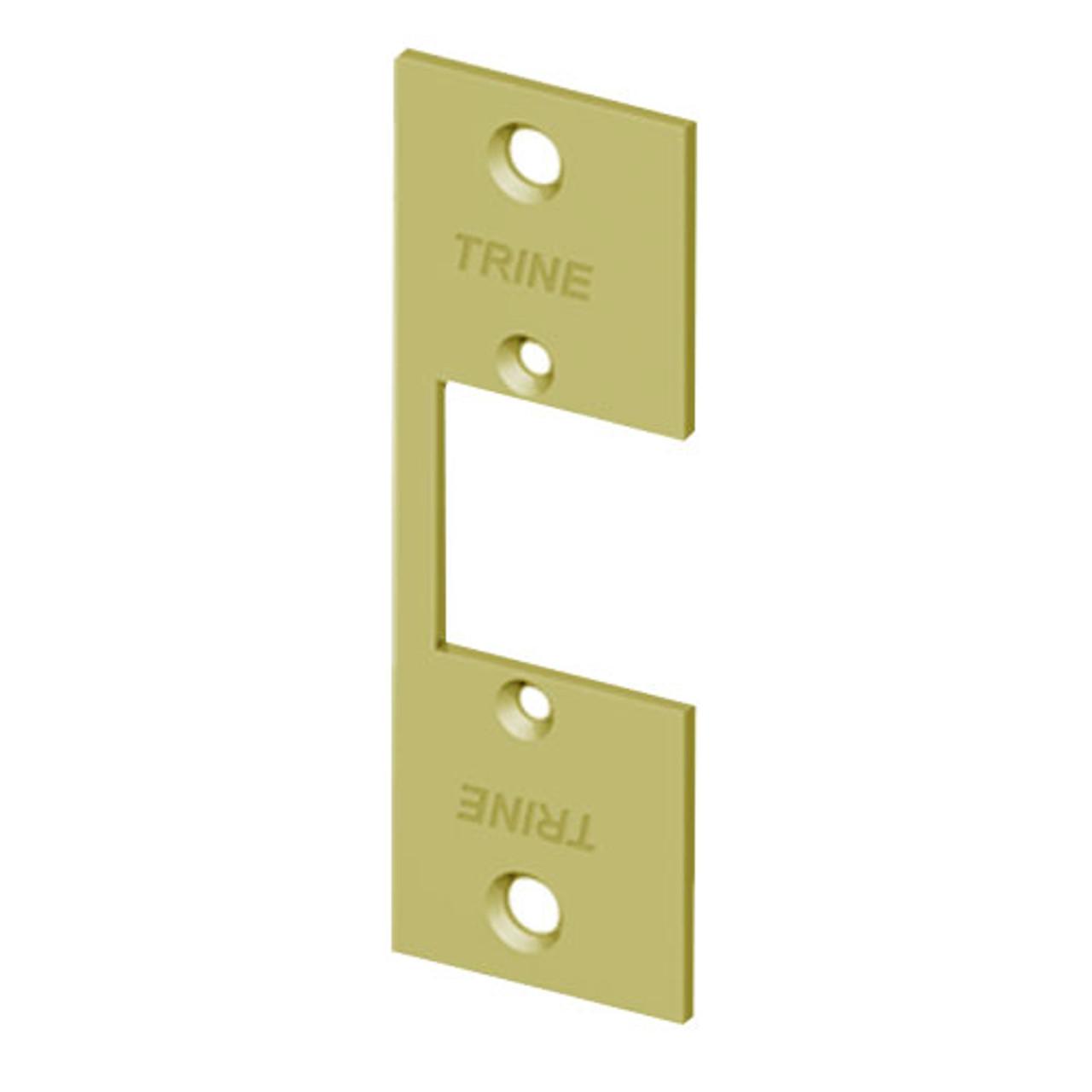 334-US4 Trine 3000 Series Faceplate in Satin Brass Finish