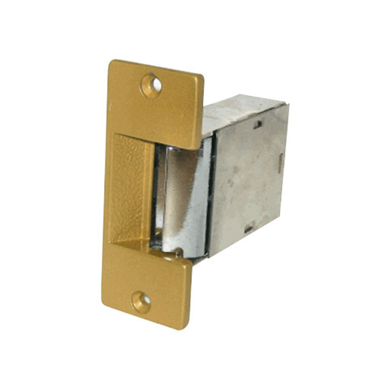 S005-RS-12DC Trine Light Commercial Fail Safe Electric Strikes in Brass Powder Finish