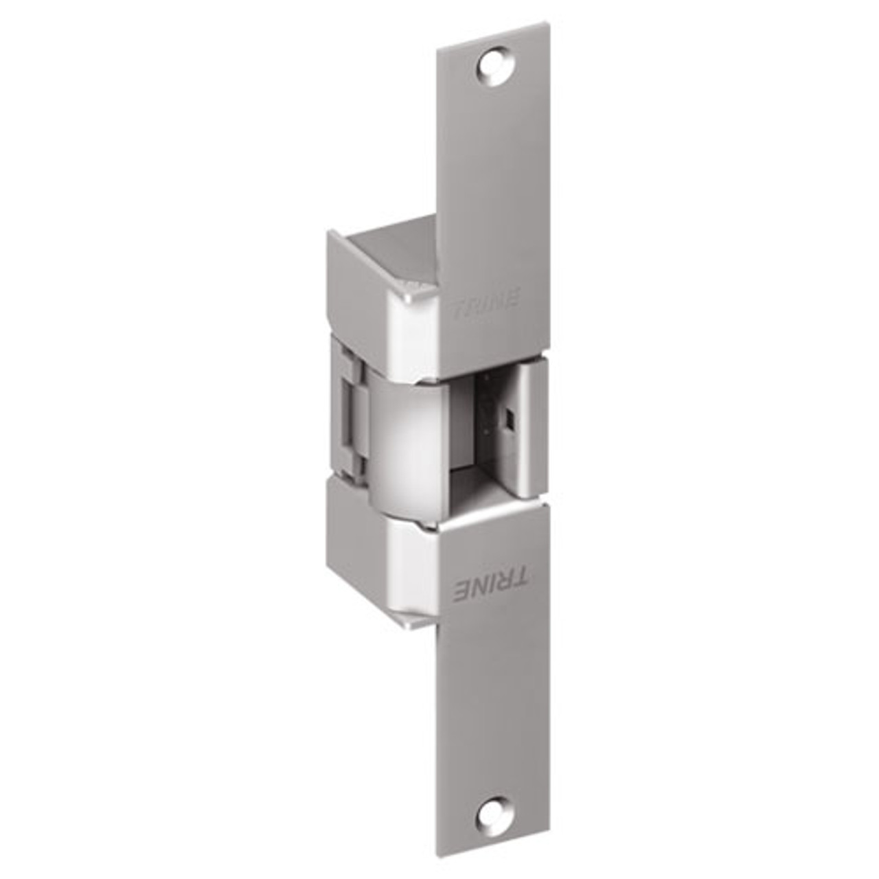 EN950-24DC-32D-LH Trine EN Series Indoor/Outdoor Fire rated Electric Strikes in Satin Stainless Steel Finish