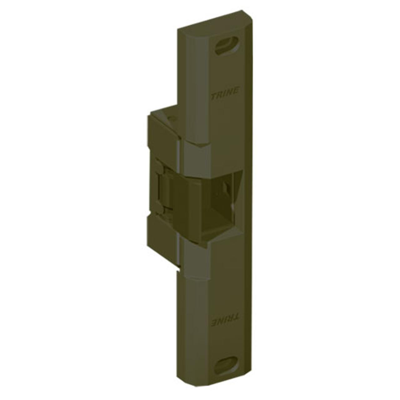 EN850-12AC-US10B-LH Trine EN Series Great for Outdoor Gates Electric Strikes in Dark Bronze Finish