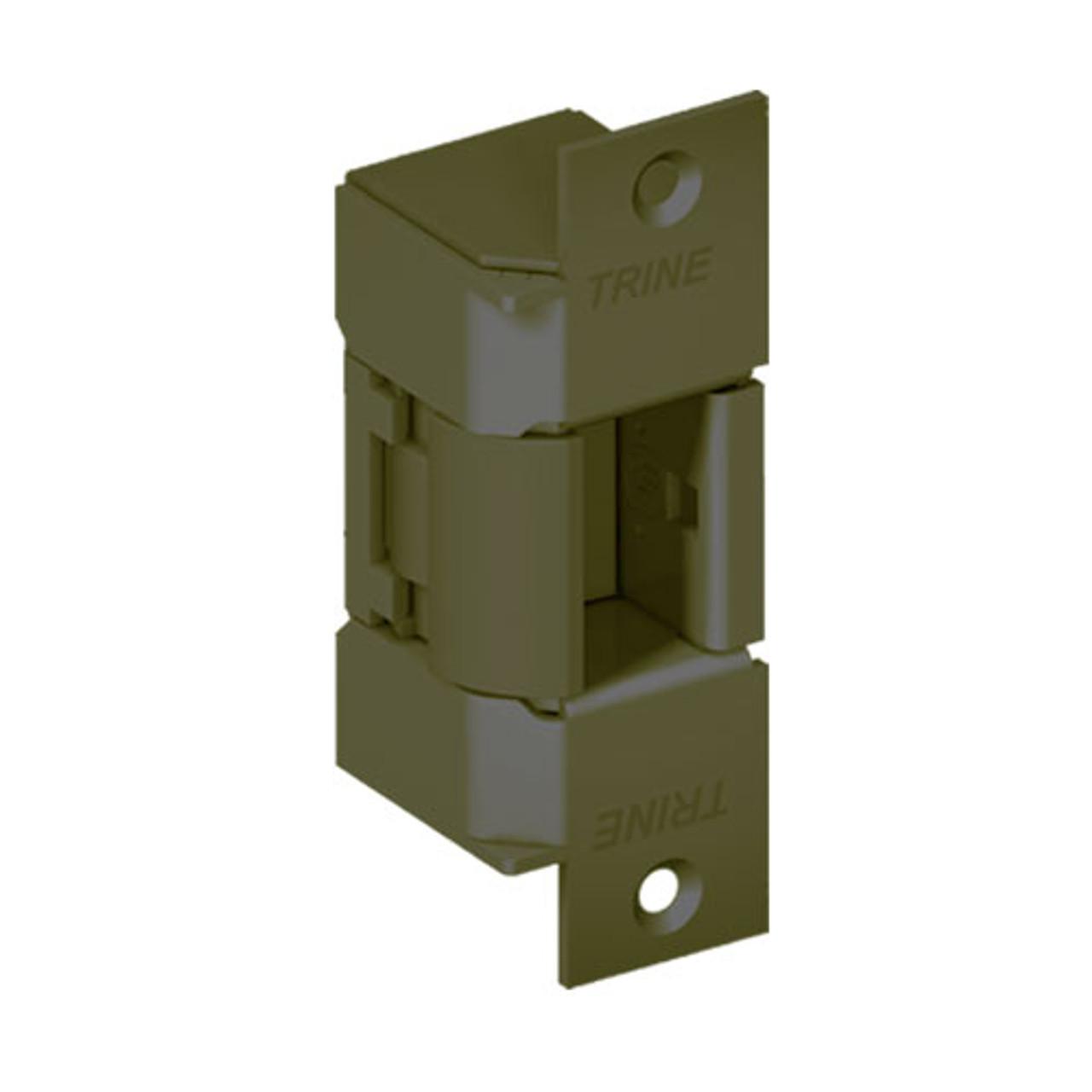 EN400-24DC-US10B-LH Trine EN Series Outdoor Electric Strikes Solution in Dark Bronze Finish