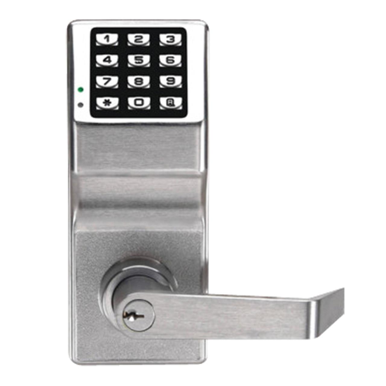 DL2700/US26D T2 Alarm Lock Trilogy Electronic Digital Lock in Satin Chrome Finish