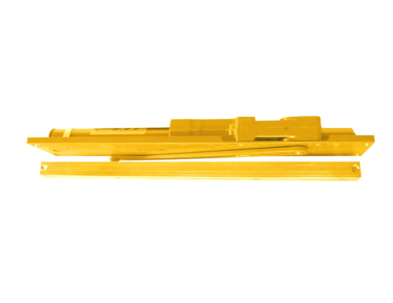 2035-STD-LH-BRASS LCN Door Closer with Standard Arm in Brass Finish