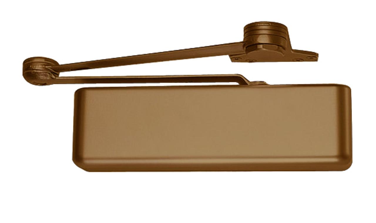 LCN 4111-EDA LH DKBRZ 4110 Series Surface Closer Aluminum