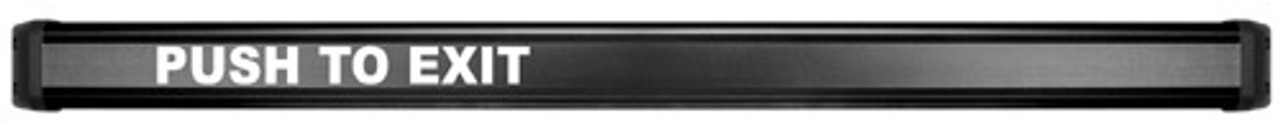 EMB-BK-42 Securitron Electromechanical Bar in Black Anodized Finish