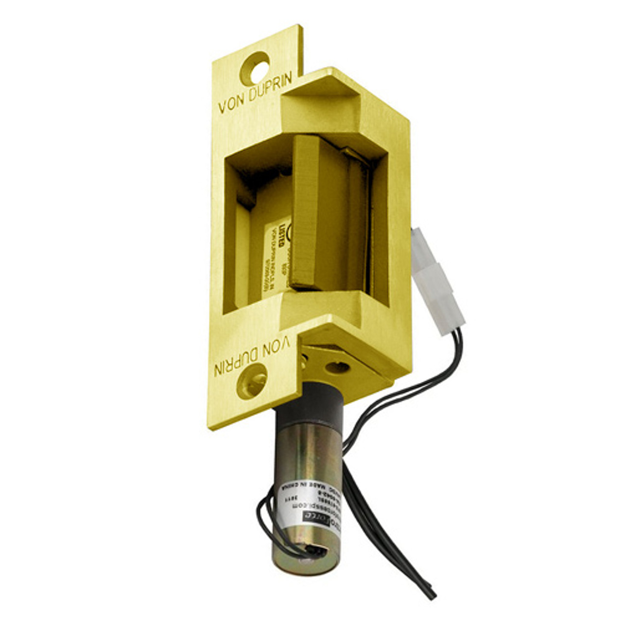 6211-DS-12VDC-US3 Von Duprin Electric Strike in Bright Brass Finish