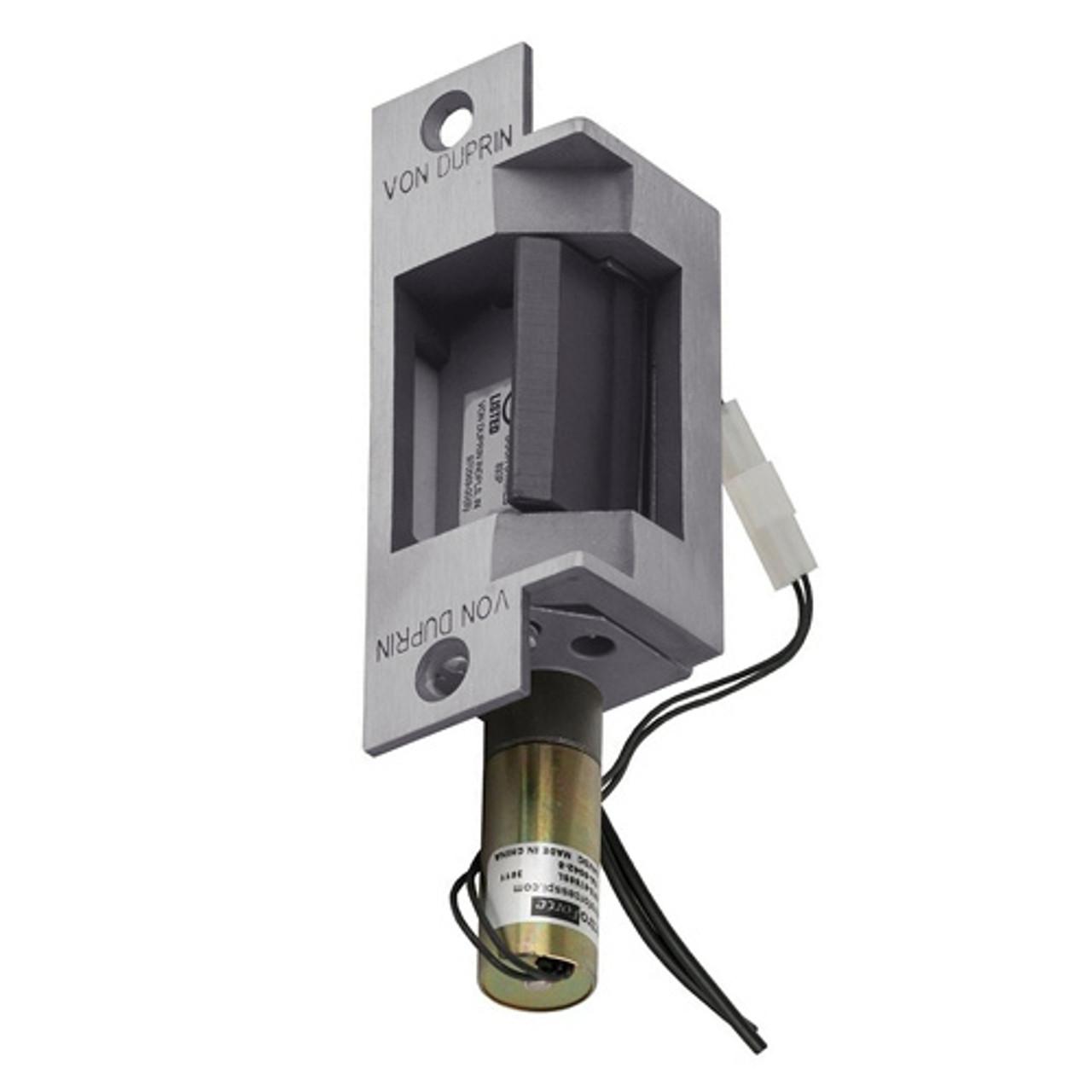 Von Duprin 6211 FSE 12VDC US32D Heavy-Duty Electric Strike for Cylindrical Lock 12VDC Stainless Steel Finish