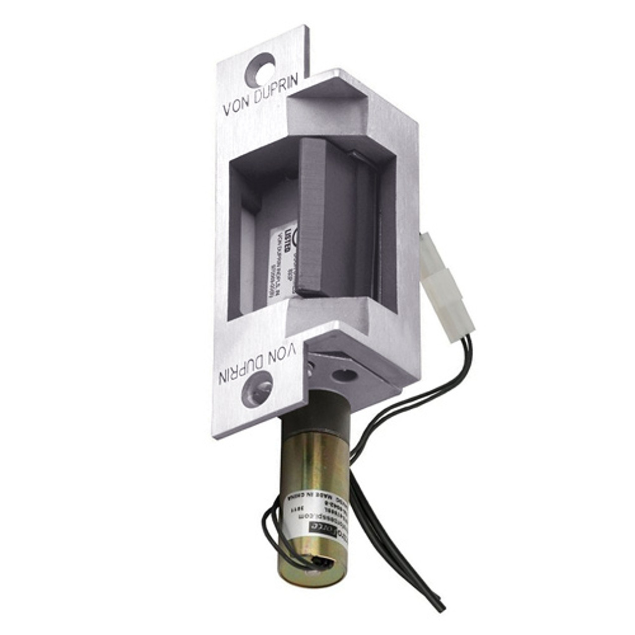 6211-FS-DS-LC-12VDC-US32 Von Duprin Electric Strike in Bright Stainless Steel Finish