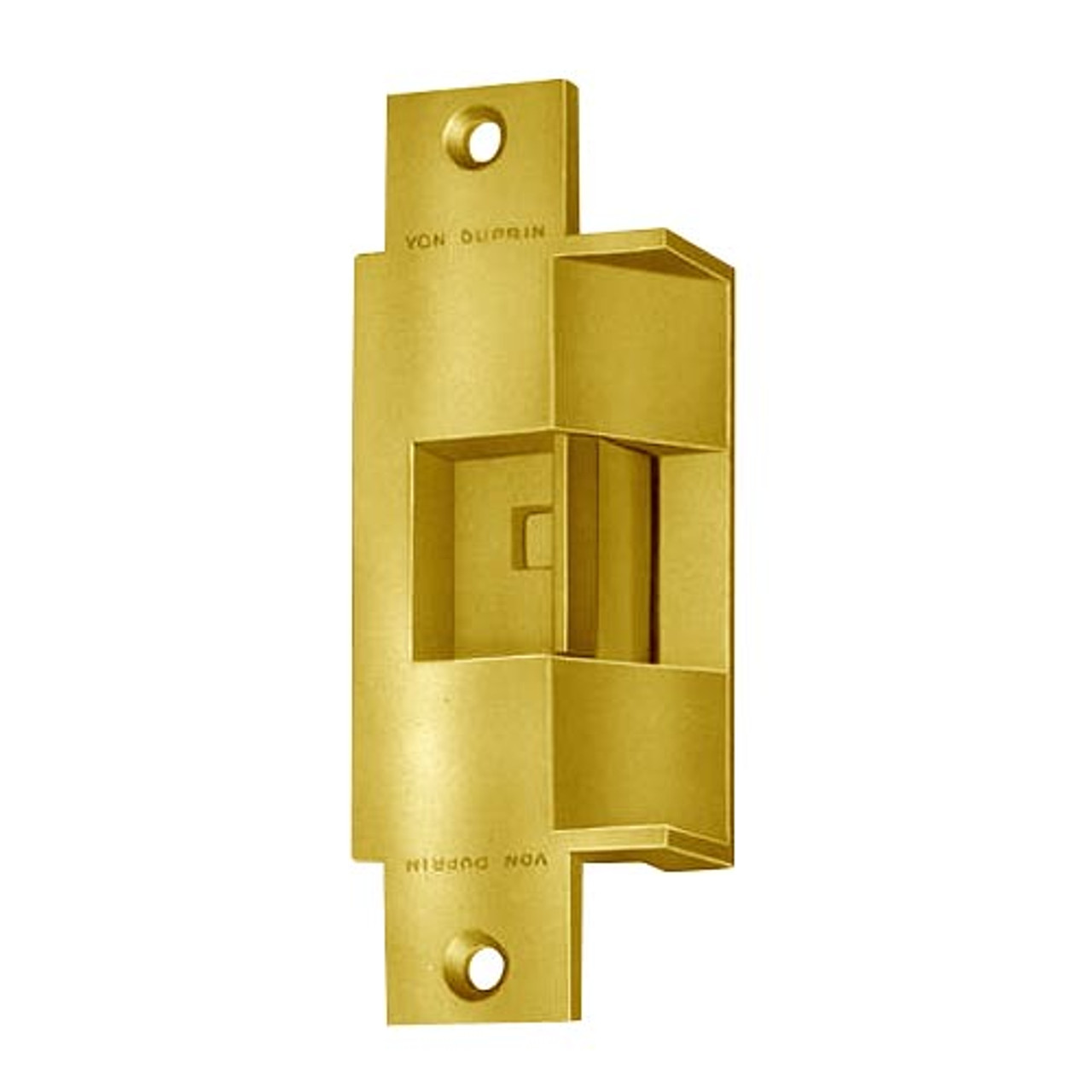 6213-FS-DS-LC-12VDC-US3 Von Duprin Electric Strike in Bright Brass Finish