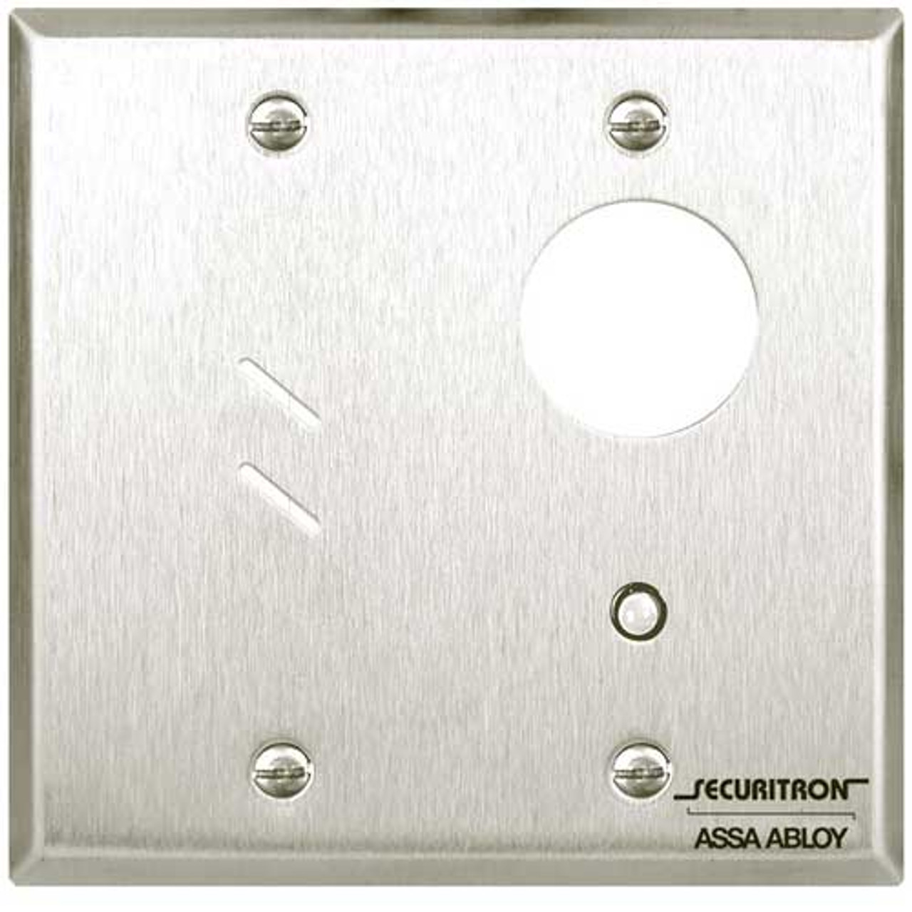 MKAPZ Securitron Double Gang Alternate Mortise Keyswitch with Audible