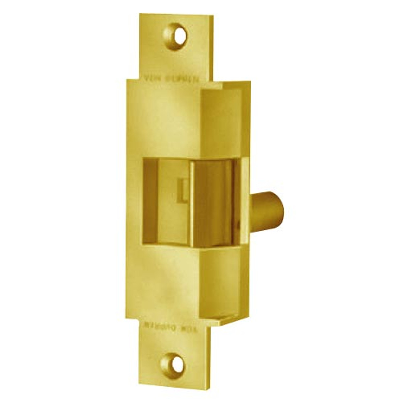 6223-FS-24VDC-US3 Von Duprin Electric Strike in Bright Brass Finish