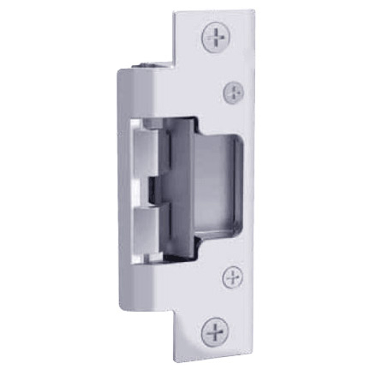 """801-629 Hes 4-7/8"""" x 1-1/4"""" Faceplate in Bright Stainless Steel Finish"""