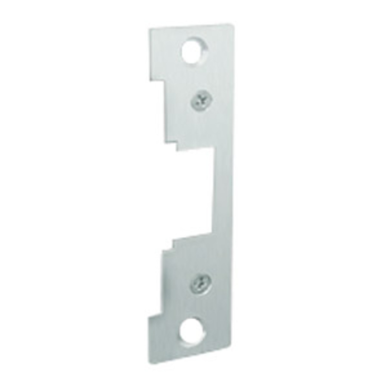 """791-629 Hes 4-7/8 x 1-1/4"""" Faceplate in Bright Stainless Steel Finish"""