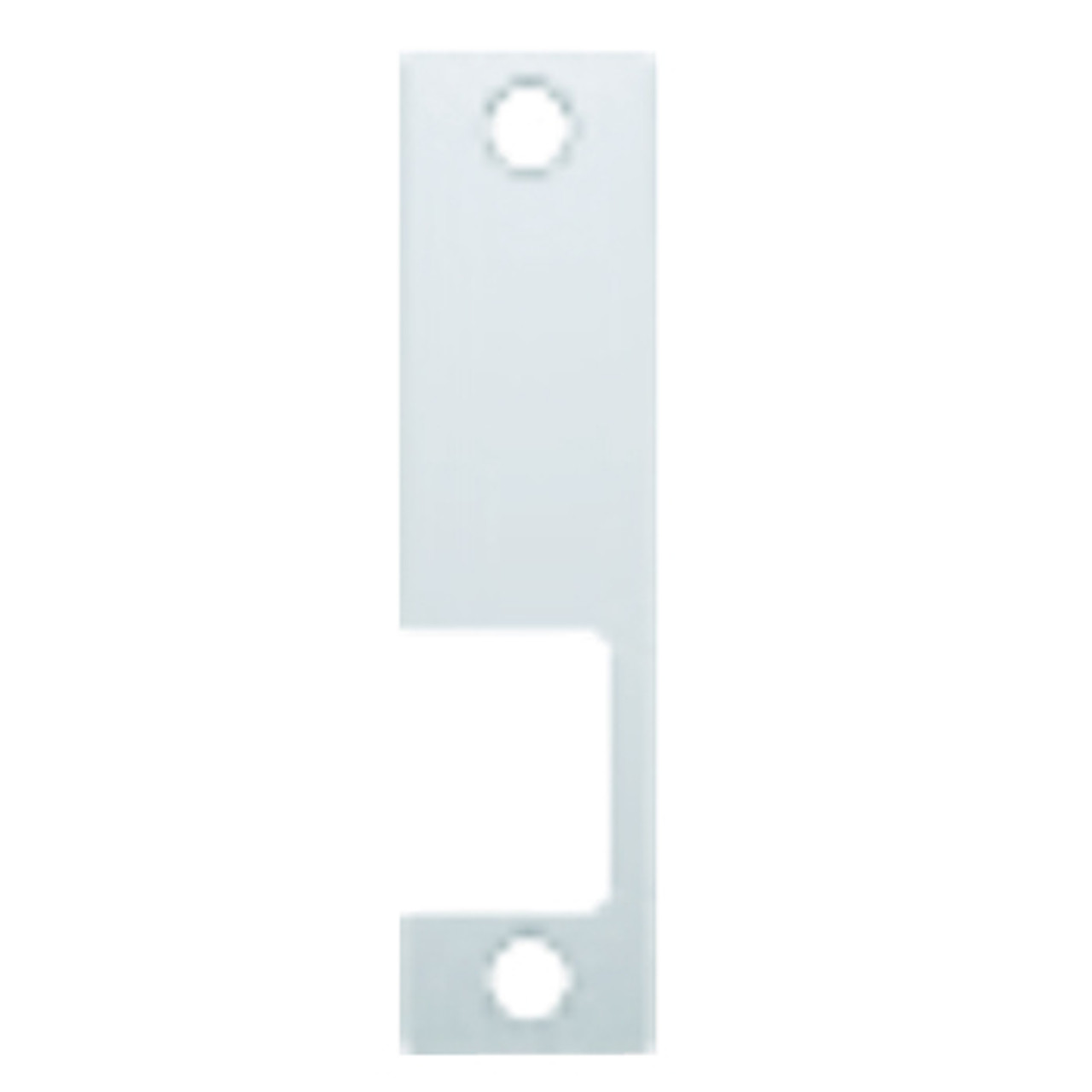 """KD-629 Hes 4-7/8"""" x 1-1/4"""" Faceplate in Bright Stainless Steel Finish"""