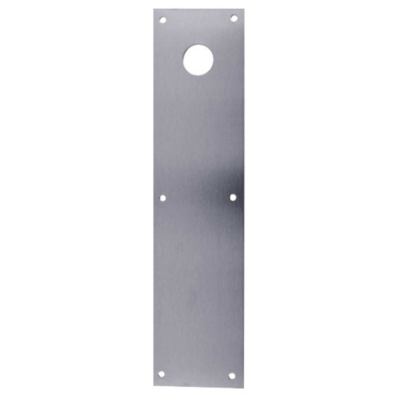 CFC70-630 Don Jo Push Plates with Holes in Satin Stainless Steel Finish