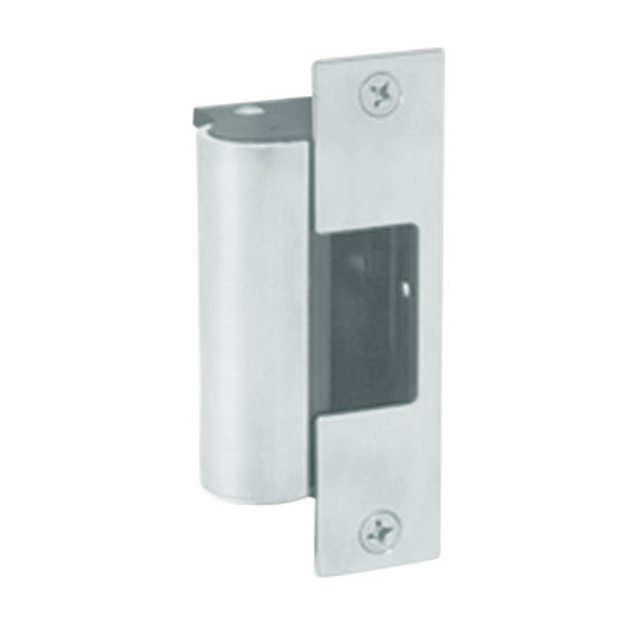 1006-F-629-LBM Hes Fail Safe Electric Strike Body with Latchbolt Monitor in Bright Stainless Steel Finish