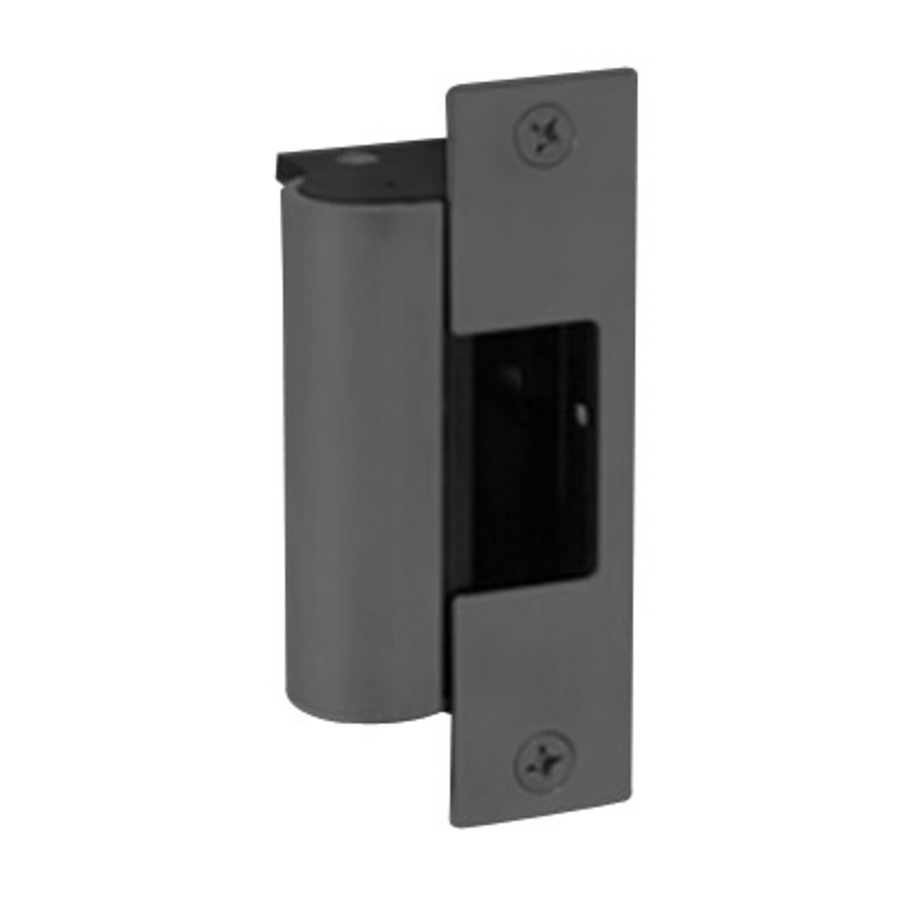 1006-BLK-LBSM Hes Electric Strike Body with Latchbolt Strike Monitor in Black Finish