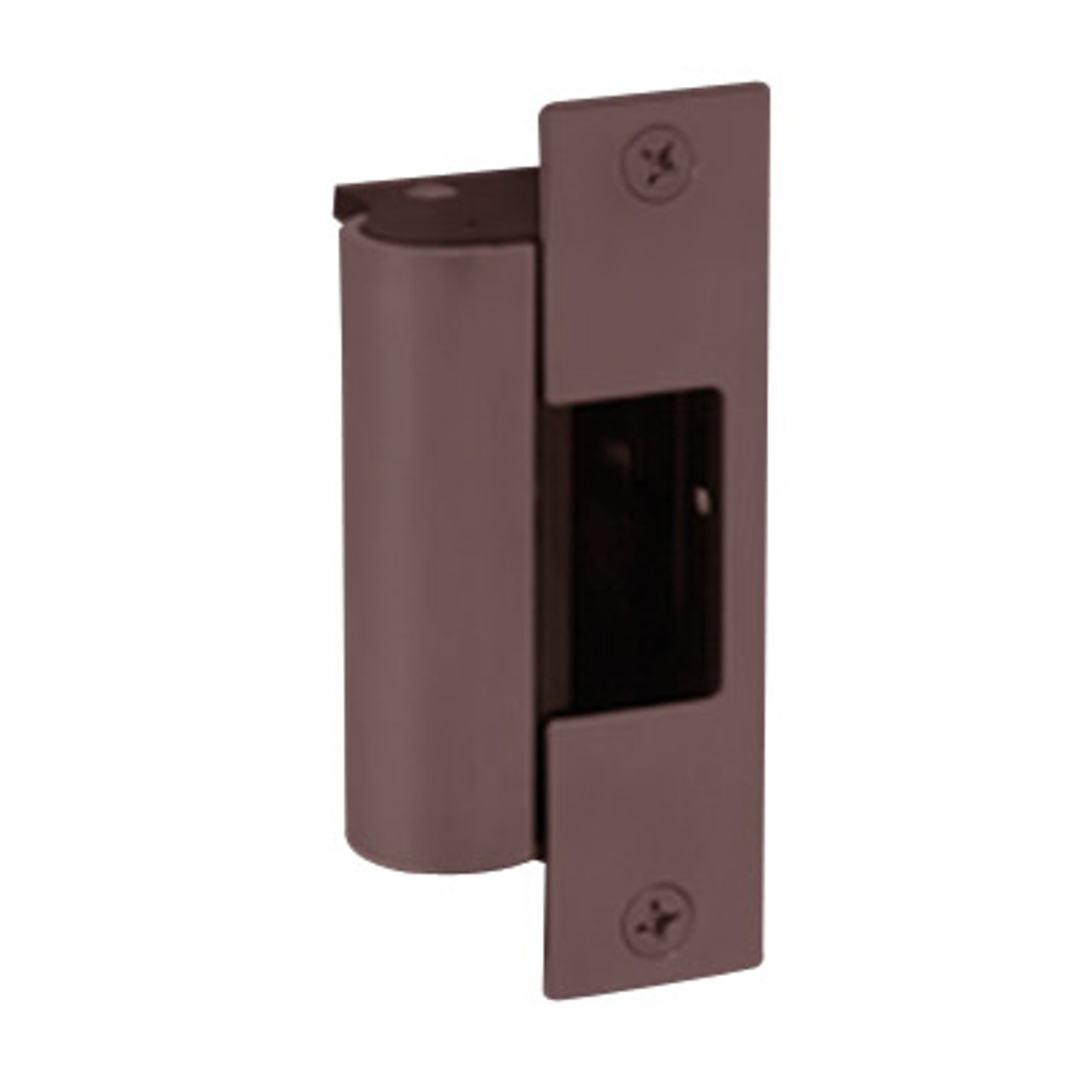 1006-F-613-LBSM Hes Fail Safe Electric Strike Body with Latchbolt Strike Monitor in Bronze Toned Finish