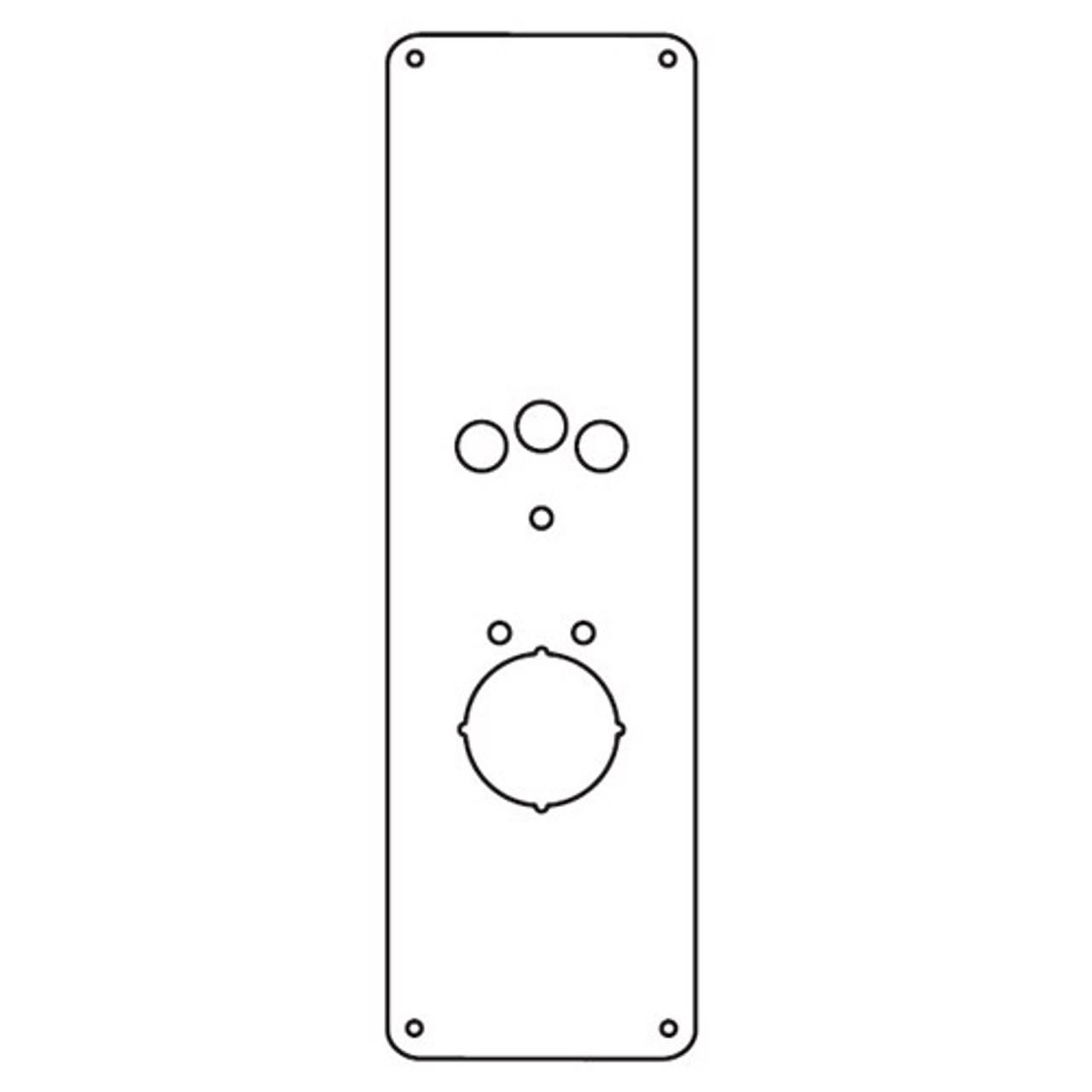 RP-18-630 Don Jo Remodeler Plate in Stainless Steel Finish