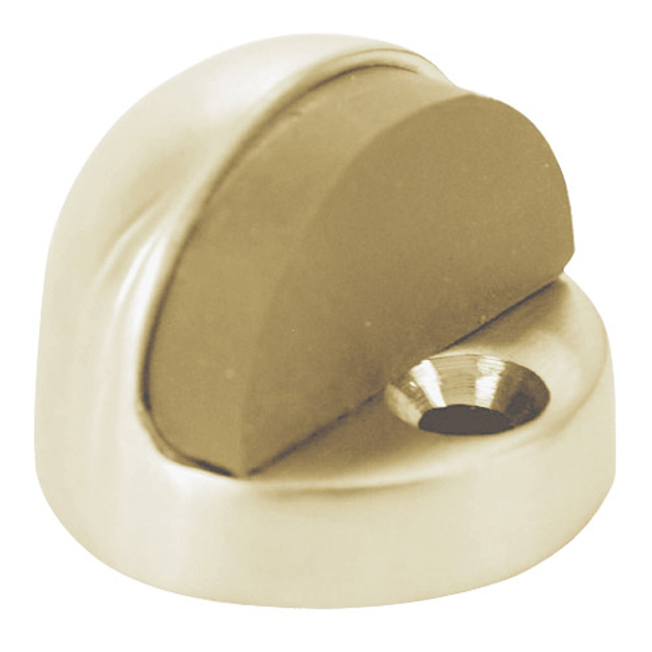 Don-Jo 1442 Cast Brass Floor Stop Polished Brass Finish Pack of 20 1442-605 3//8 x 1-3//4 Base 1-1//4 Height 3//8 x 1-3//4 Base 1-1//4 Height Pack of 20