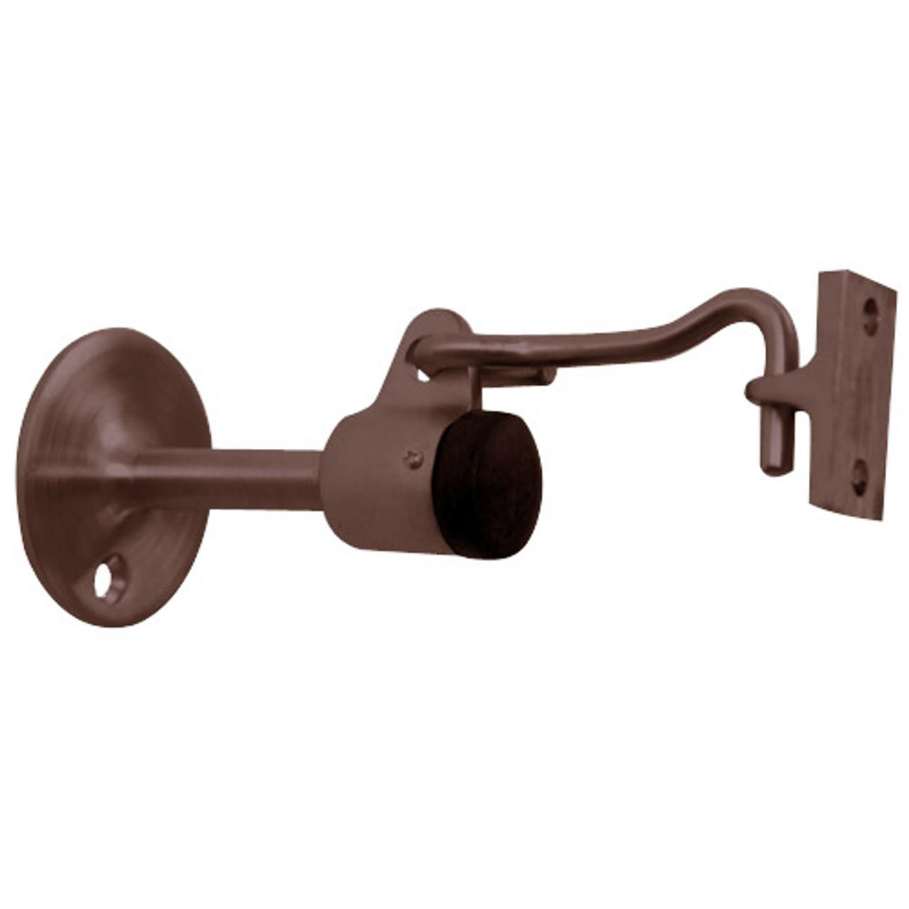 1477-613 Don Jo Door Stop in Oil Rubbed Bronze  Finish