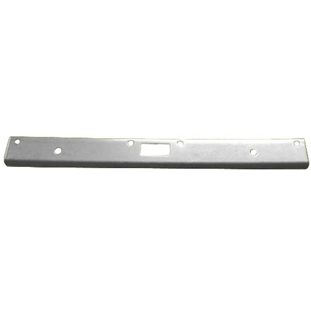 """FL-212NM-SL Don Jo 12"""" Security Strike Plate in Silver Coated Finish"""