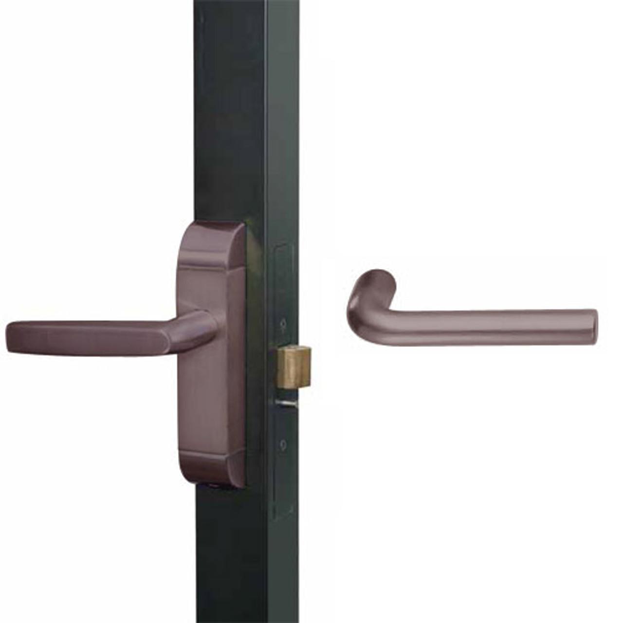 4600-ME-521-US10B Adams Rite ME Designer Deadlatch handle in Oil Rubbed Bronze Finish