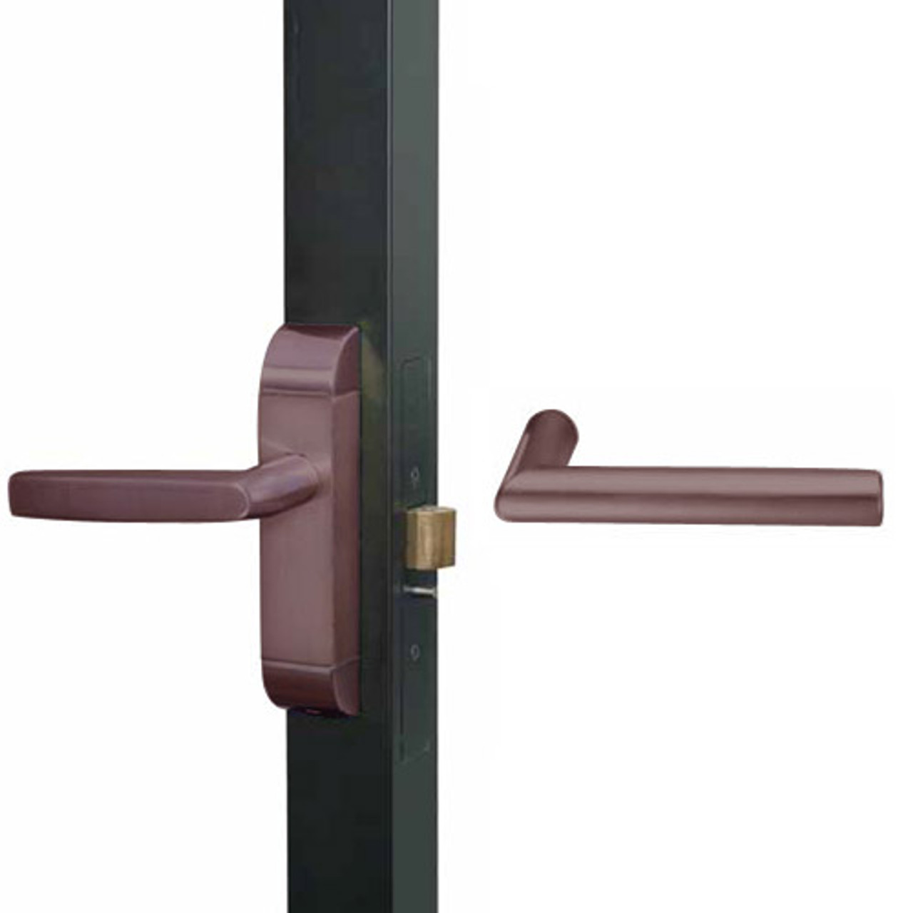 4600-MI-521-US10B Adams Rite MI Designer Deadlatch handle in Oil Rubbed Bronze Finish