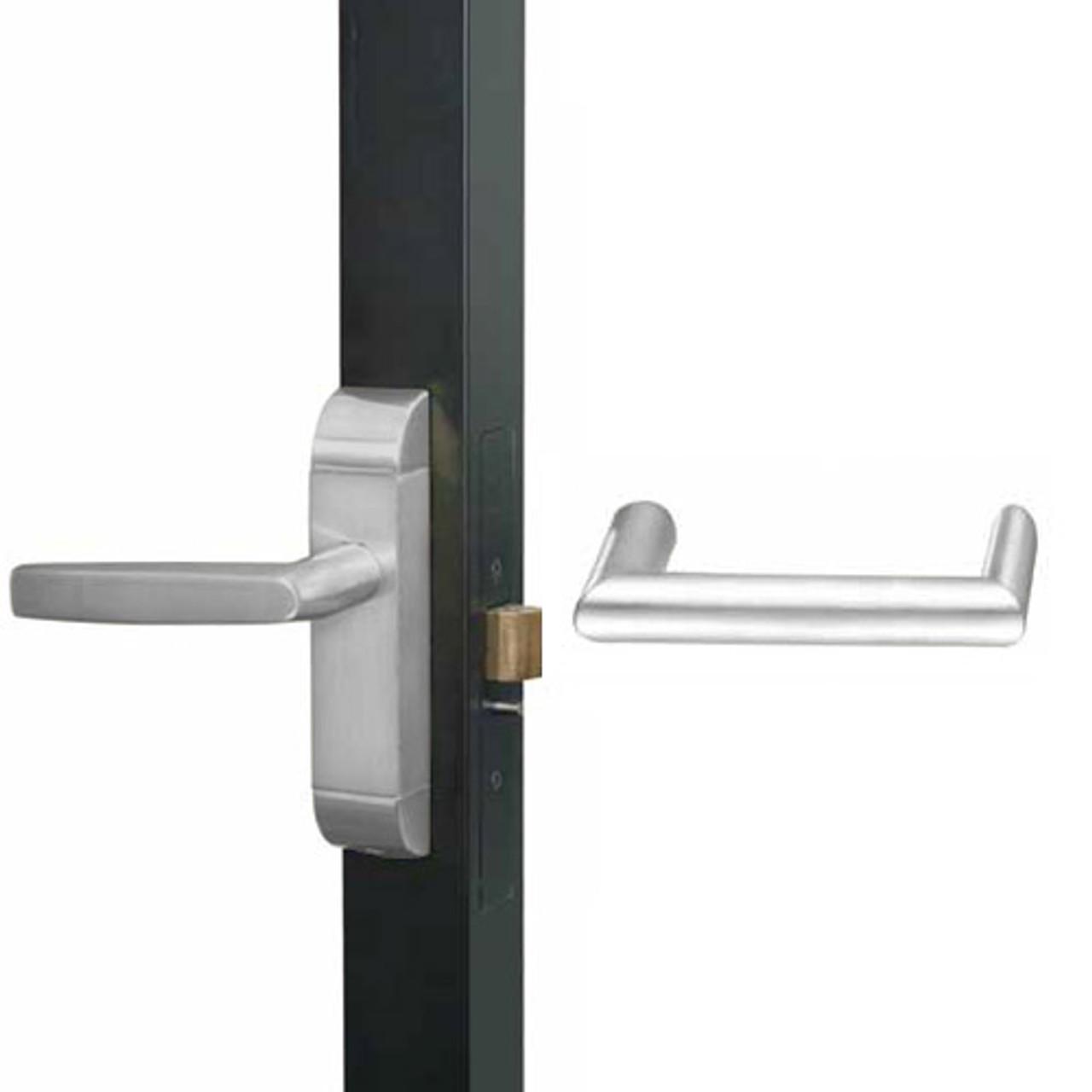 4600-MW-611-US32 Adams Rite MW Designer Deadlatch handle in Bright Stainless Finish