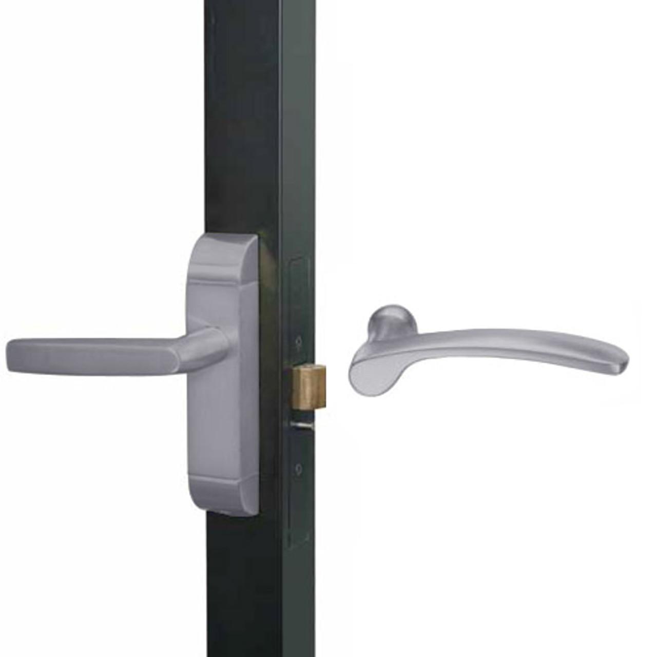 4600-MN-651-US32D Adams Rite MN Designer Deadlatch handle in Satin Stainless Finish