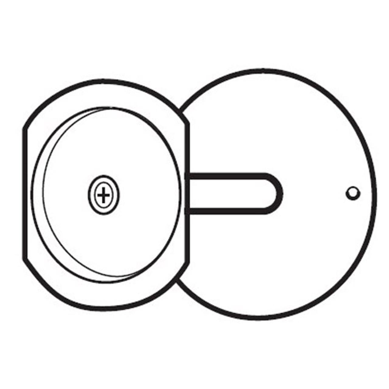 PDF-161-SL Don Jo Hole Filler Plate