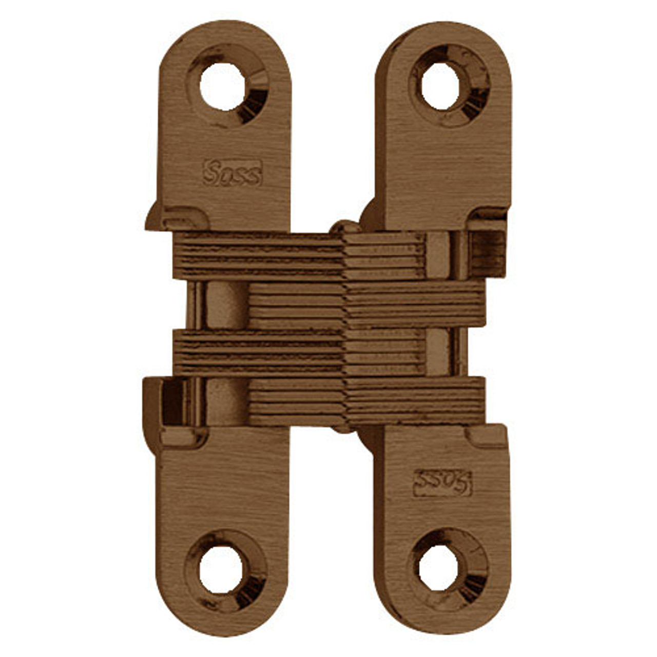 204C-US10BL Soss Invisible Hinge in Oil Rubbed Bronze Finish