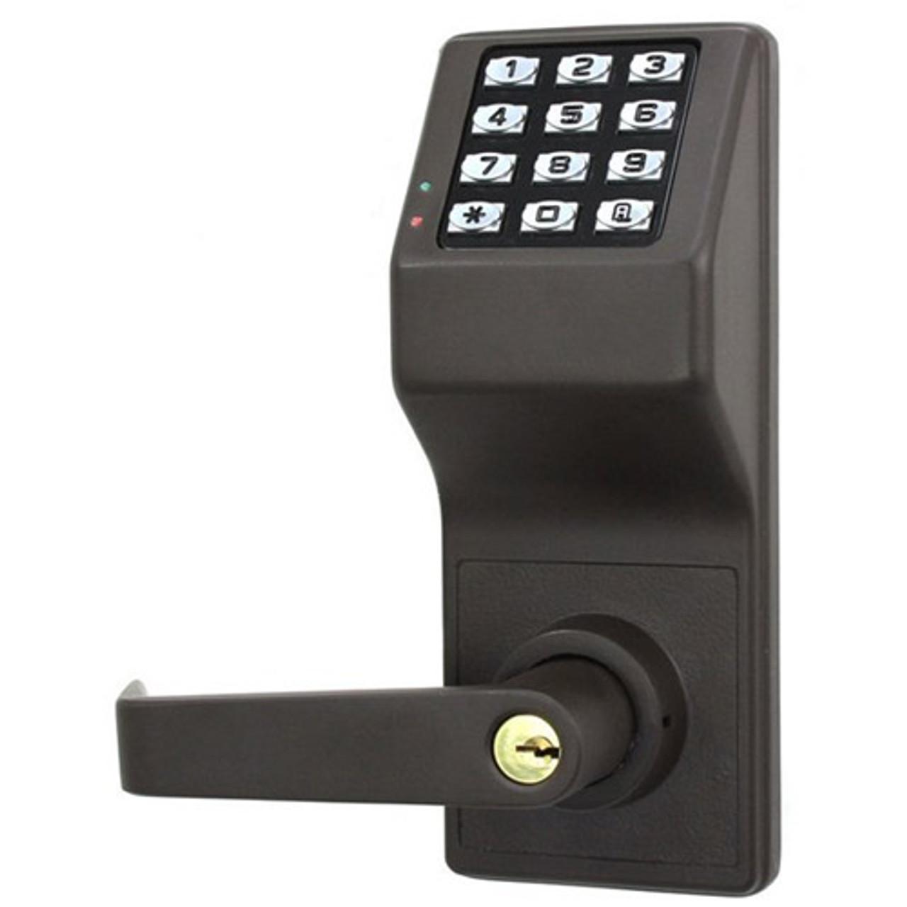 DL3000WPIC-R-US10B Alarm Lock Trilogy Electronic Digital Lock in Duronodic Finish