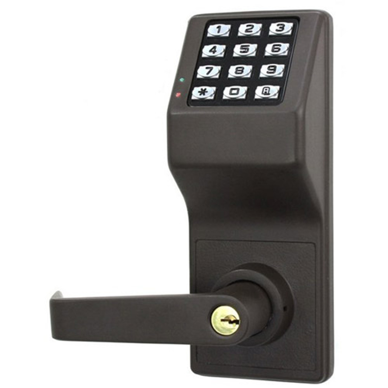 DL3000WPIC-S-US10B Alarm Lock Trilogy Electronic Digital Lock in Duronodic Finish