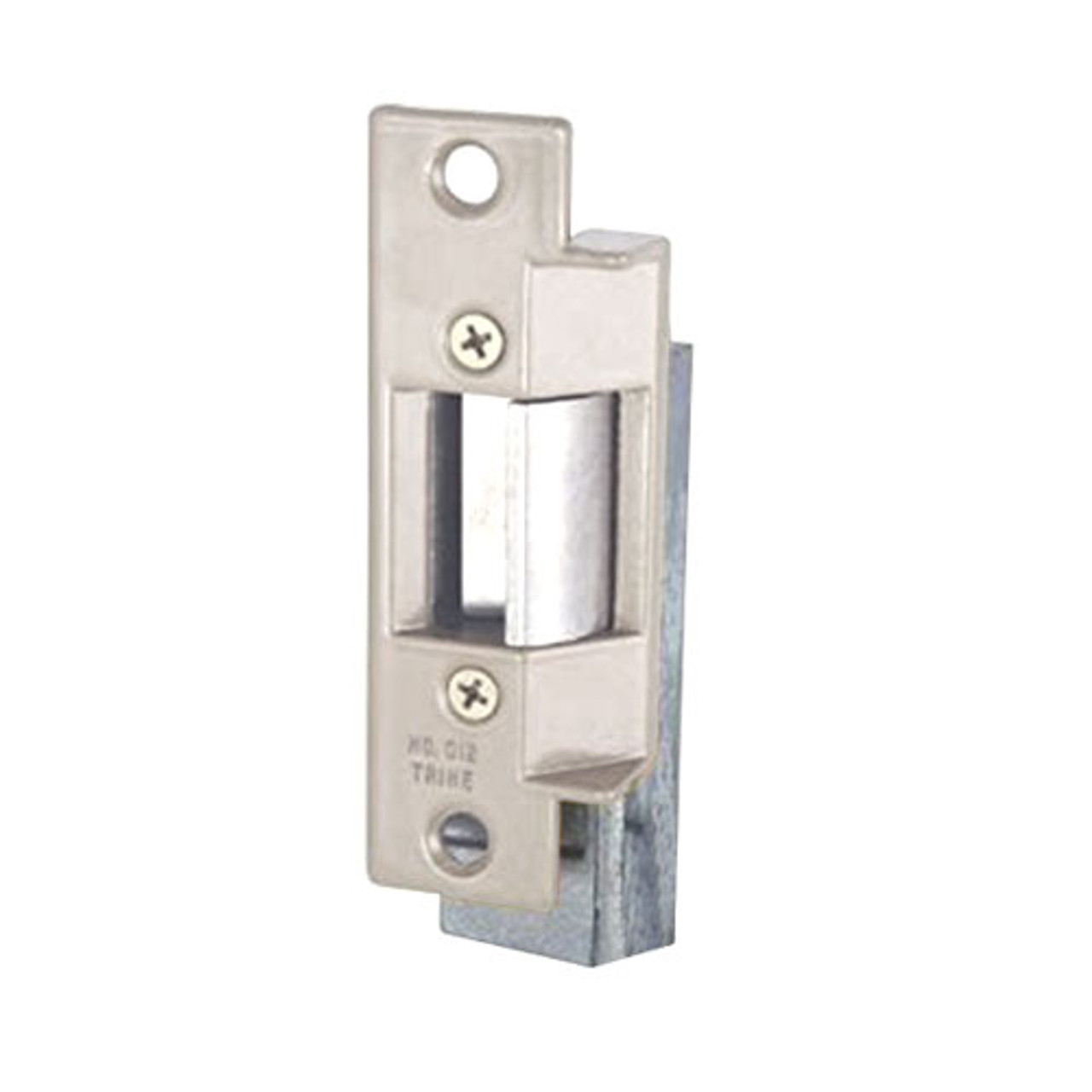 012C-12DC Trine Light Commercial ANSI 01 Series Electric Strikes in Satin Chrome Finish