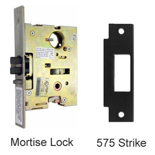 EL9875NL-US32D-3 Von Duprin Mortise Lock and Strike