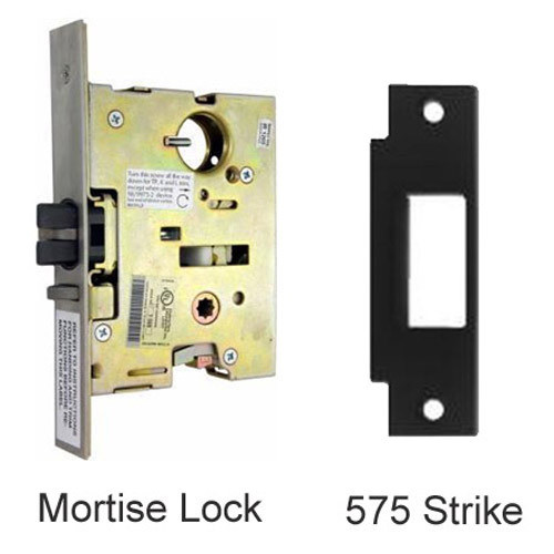 9875L-US32D-3-RHR Von Duprin Mortise Lock and Strike