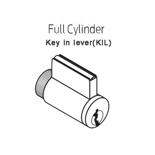 CO220-MS-75-PR-SPA-PD-626 Schlage Classroom Lockdown Mortise Proximity Lock Sparta Lever in Satin Chrome