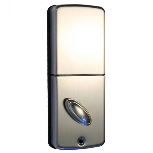 OE-550DB-626 Lockstate Remote Lock Wi-Fi Keypad Deadbolt in Satin Nickel