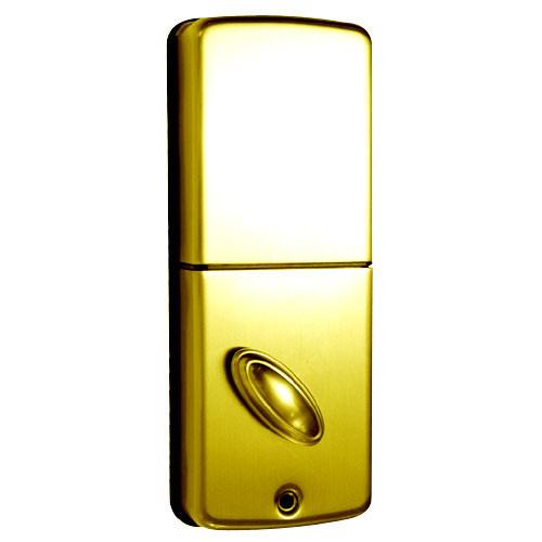 LS-DB5i-PB-B Lockstate Remote Lock Wi-Fi Keypad Deadbolt in Polished Brass