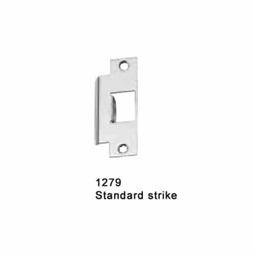 F-XX-M-K-US3-RHR Falcon XX Series Fire Rated Mortise Lock Exit Device with 811K Knob Trim in Bright Brass