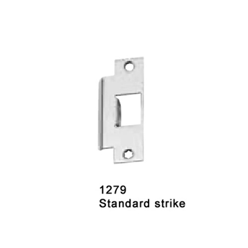 CD25-M-L-DANE-US19-4-RHR Falcon 25 Series Mortise Lock Devices with 510L Dane Lever Trim in Flat Black Painted