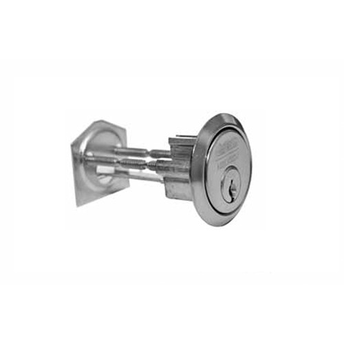 CR3000-200-6-77B1-626 Corbin Russwin Conventional Rim Cylinder in Satin Chrome